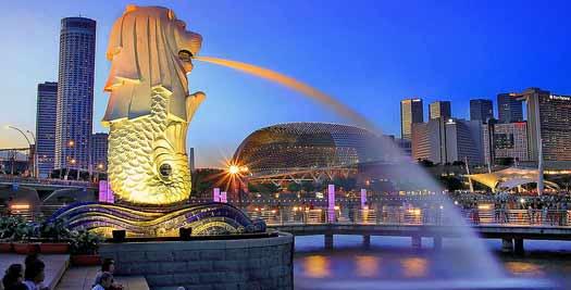 Reizen Maleisie - Singapore