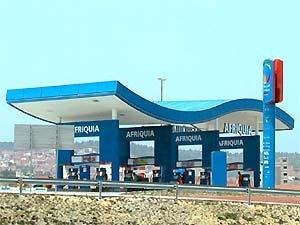 marokko benzinestation