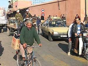 marokko verkeer