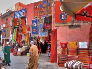 marokko afdingen lokale markt