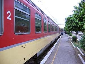 trein marokko vervoer