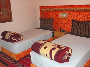 marokko overnachten kamer berghut