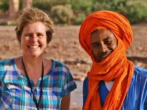 reiziger marokko