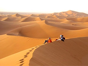 marokko zonsopgang woestijn