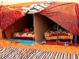 Kamelentocht-tent