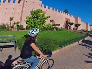 Marrakech-stadsmuur