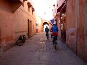 Marrakech fietsen