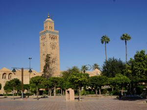 Marrakech moskee