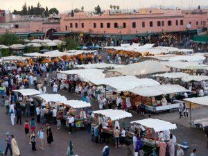 Marrakech Dejma El Fna plein