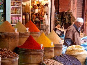 Marrakech kuiden markt