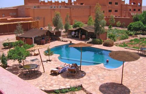 marokko ait ben haddou buiten