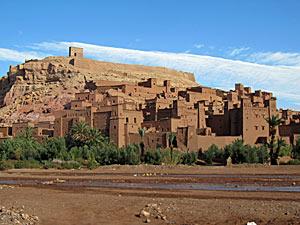 marokko ait ben haddou kashba