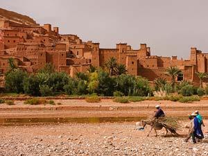 marokko ait ben haddou stad
