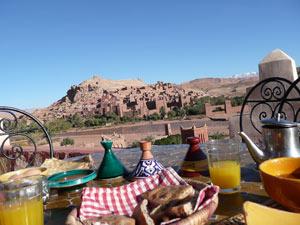marokko ait ben haddou ontbijt