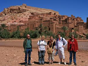 marokko ait benhaddou wandelen