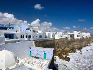 marokko asilah witte stad