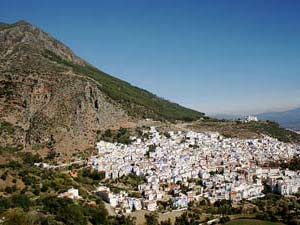 marokko chefchaouen bergen uitzicht