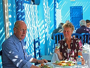 Essaouira Marokko lunch
