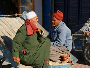 marokko essaouira mannen