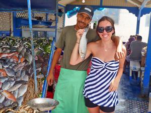 Essaouira Marokko vismarkt