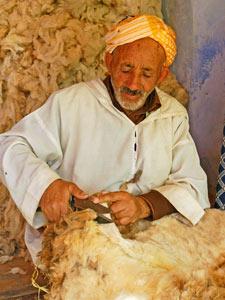 marokko fes wolknipper