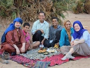 marokko zandduinen