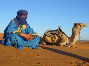 kamelenman Zagora woestijnreis Marokko