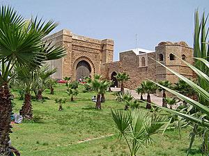marokko koningssteden rabat poort