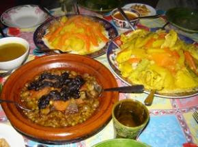 Couscous bij berbers
