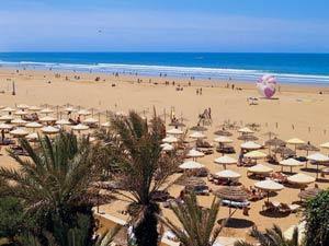 marokko agadir strand