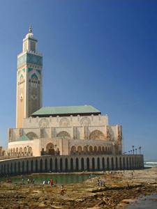 marokko hassan moskee