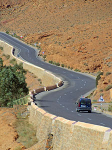 marokko reis onderweg