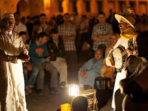 marokko marrakech optreden