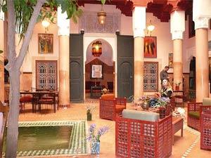 marokko marrakech riad