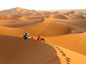marokko merzouga dunes sunrise