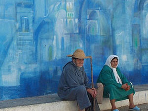 marokko muurschildering asilah