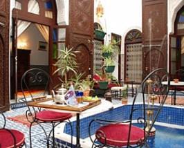 marokko riad fes patio