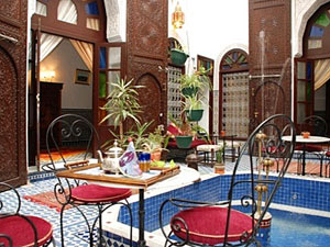 marokko riad fes patio