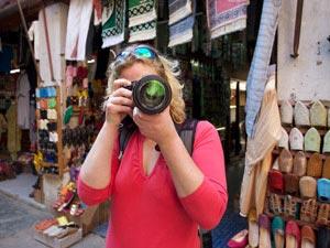 marokko souks toerist