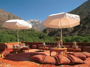 marokko terras hotel atlasgebergte