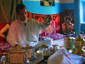 marokko thee drinken thuis
