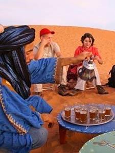 marokko thee woestijn