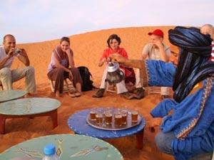 marokko theeschenken woestijn