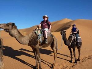marokko tocht woestijn