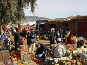 trekking marokko markt