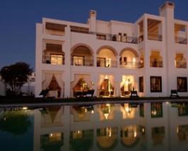 marokko voorkant riad agadir