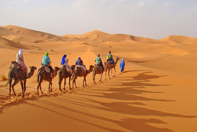 Rondreis Marokko - woestijn