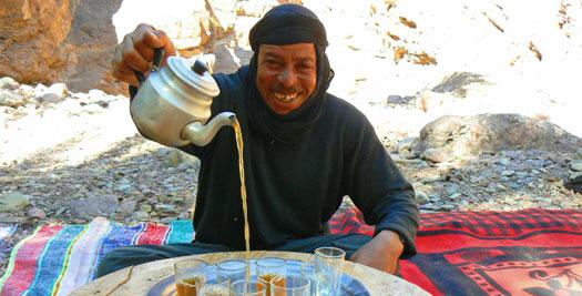 Thee drinken - Reizen Marokko