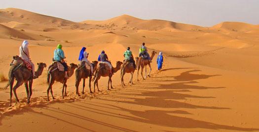 Woestijn van Marokko