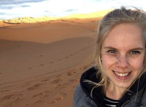 Sharon woestijn